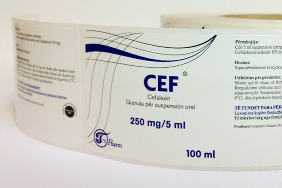 LABELS FOR PHARMACY