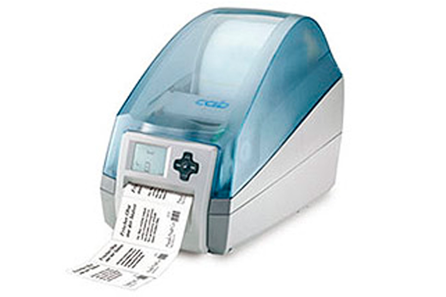 MACH 4 bar code printer